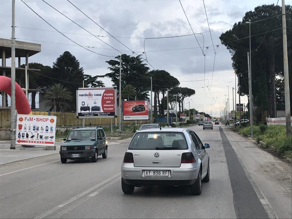 Affissioni, pubblicità, Teverola, Aversa, manifesti 4x3